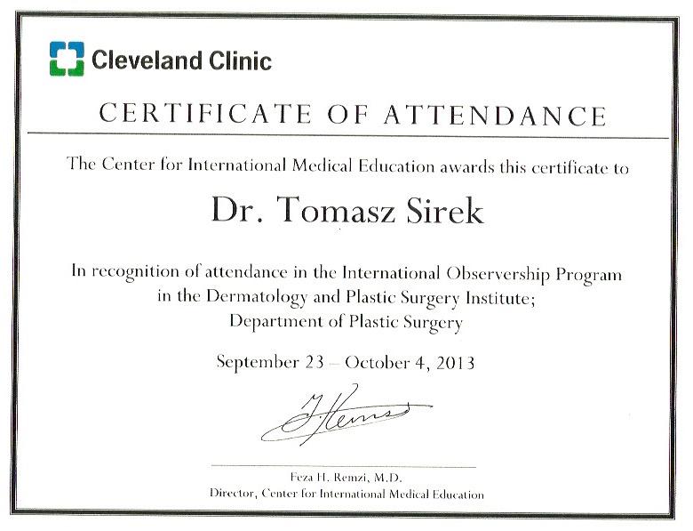 Tomasz Sirek, MD, PhD | Dr Sirek | MedCosmetic
